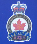 Royal Canadian Legion Crest